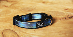 Denim Jeans Dog Collar