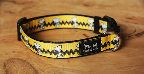 Peanuts Dog Collar