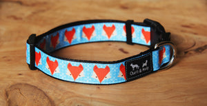 Mr Fox Dog Collar