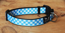 Load image into Gallery viewer, Gingham Dog Collar