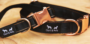 Black Premium Dog Collar