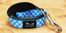 Load image into Gallery viewer, Gingham Dog Dog Lead