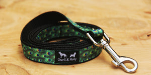 Peacock Dog Lead