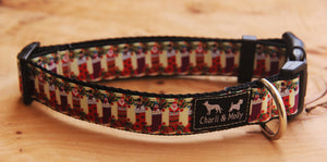 Christmas Stockings Dog Collar
