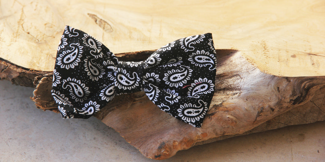 Paisley Pup Bow Tie