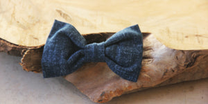Denim Days Bow Tie