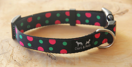 Dots of Space Dog Collar