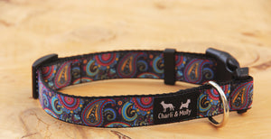 Paisley Perfection Dog Collar