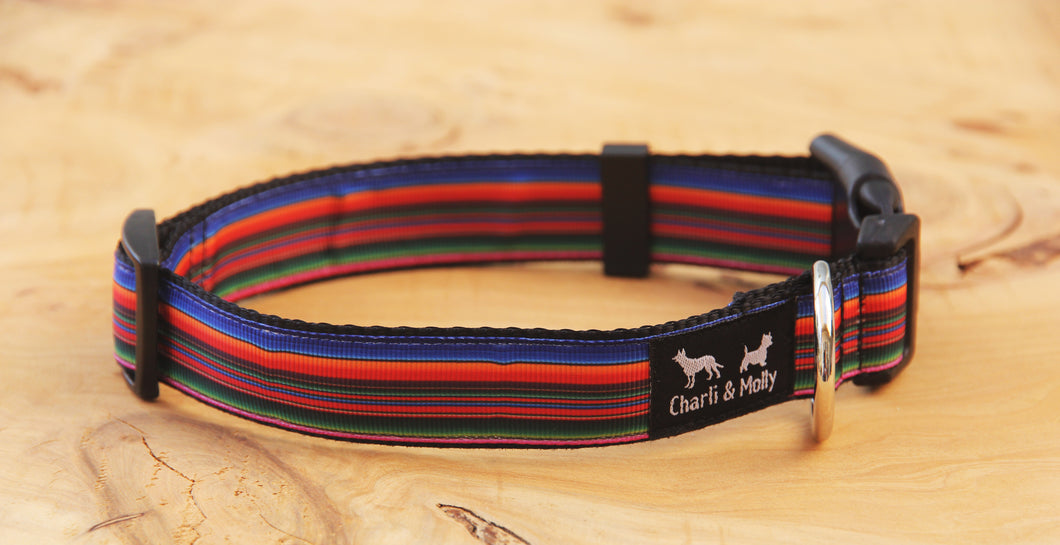 Paul's Stripes Dog Collar