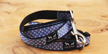 Load image into Gallery viewer, Denim Daisy Dog Lead