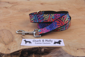 Rainbow Safari Dog Lead
