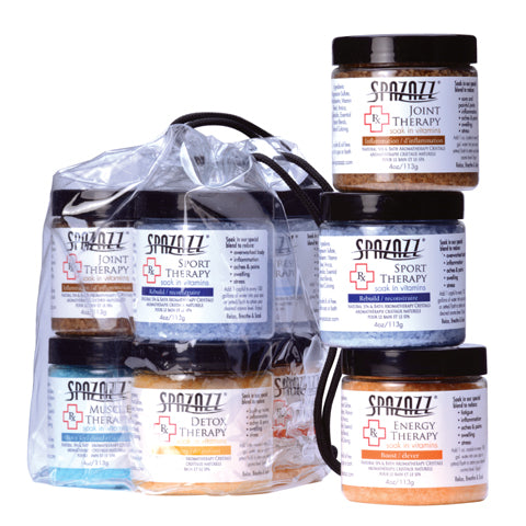 Spazazz Rx Therapy Crystals Six Pack