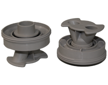 Hot Spring Spas; Kit, Rotary Jet, Warm Gray, 73388
