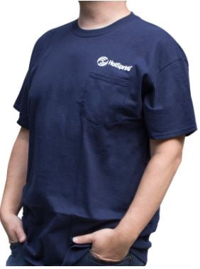 Hot Spring Spas Men's T-Shirt, Navy