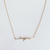 INSPIRE NECKLACE - GOLD