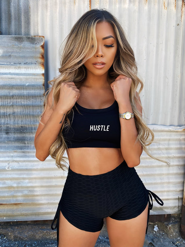 HUSTLE SPORTS BRA - REFLECTIVE
