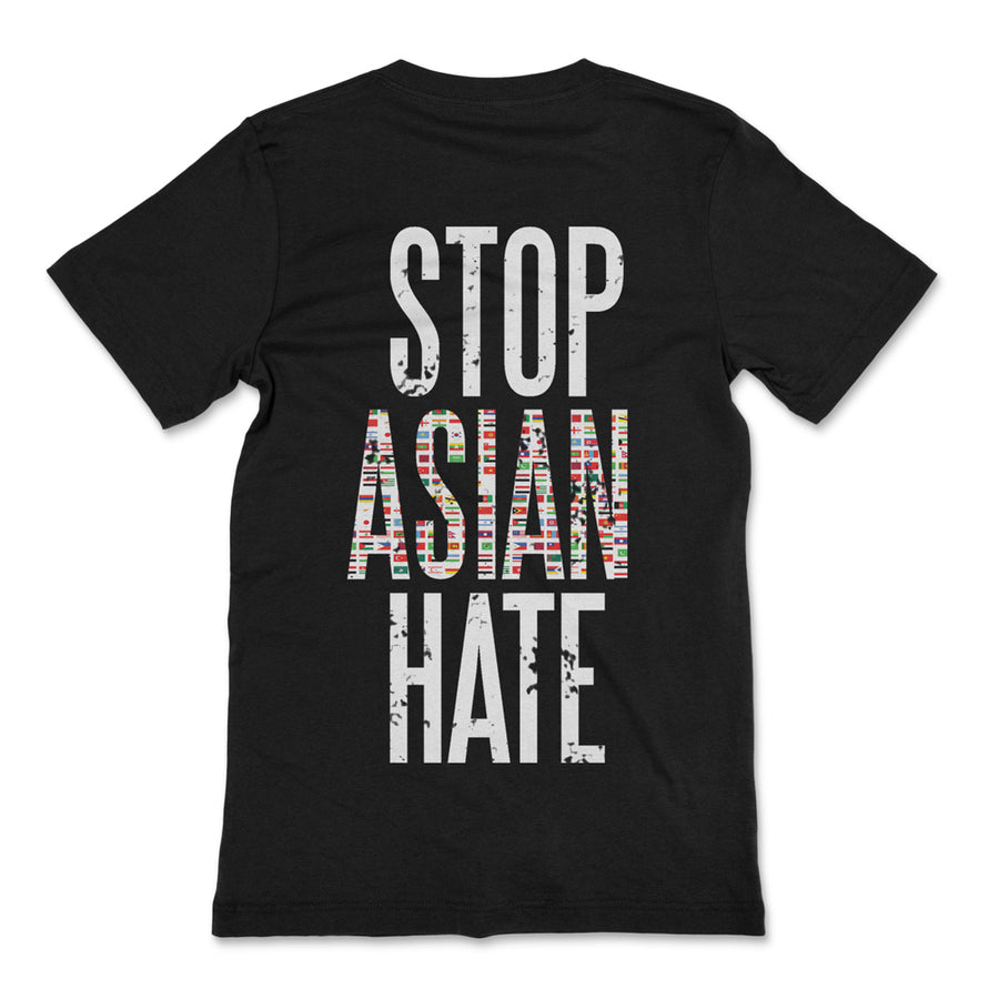 STOP ASIAN HATE TSHIRT - BLACK