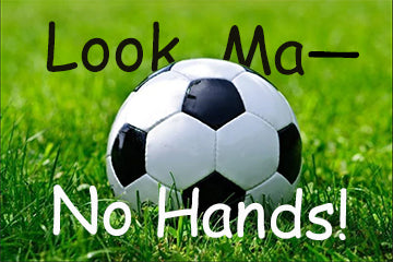 Hands Off The Soccer Ball
