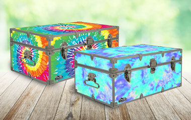 Tie Dyes, Ombres, & Gradients - Designer Trunks