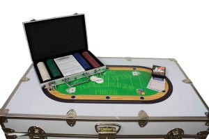 Get your Poker on with camp friends for competition and your camp trunk as the card table!