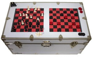 If thinking man's games are more up your alley, grab Checkers and Chess for assured camp fun!