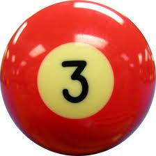 Pool isn't the only sport where you'll find the number 3!