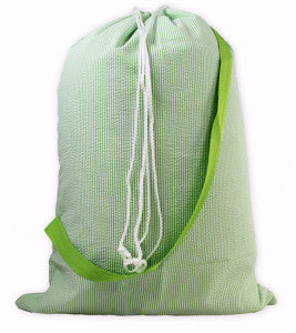 This stylin' laundry bag is great for camp.