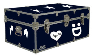 These decals are great for camp trunks and so much more!