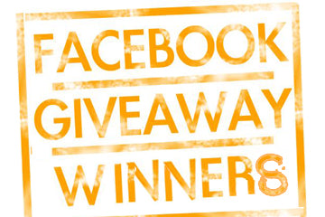 Congratulations to our Facebook Giveaway Winners!