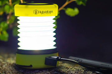 Get the Hybrid Light Lantern for your camping convenience!