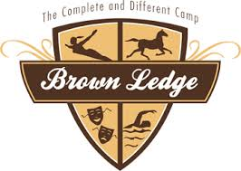 Here's the camp logo for Brown Ledge Camp for Girls.