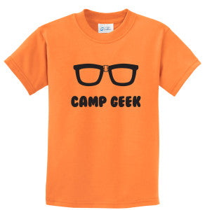 Camp Geek T-Shirt from Everything Summer Camp