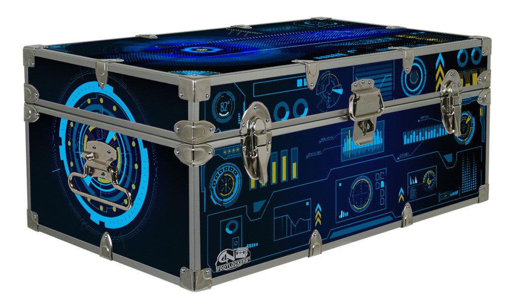 Take the helm and set the controls on this imaginative trunk.