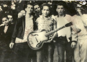 Bob Dylan at summer camp, Herzl Camp