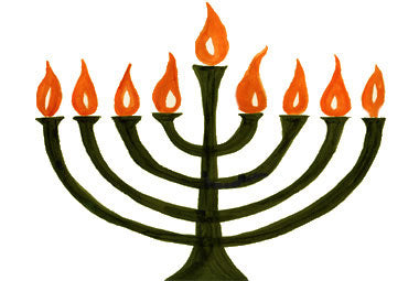 Commonly mistaken for a menorah, the Hanukkiah has nine branches instead of seven