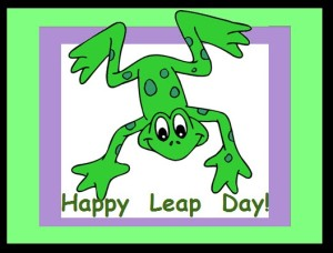 Leap, baby!