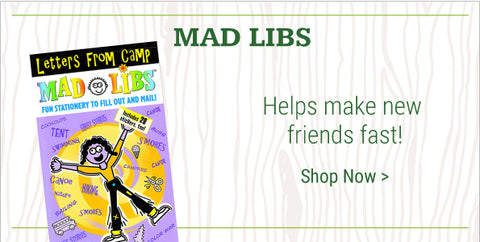 Kids Books For Summer Camp Mad Libs And Camp Books