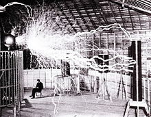 Tesla coils managed to easilty conduct massive amounts of electricity.