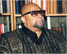 The man who started it all, Maulana Karenga