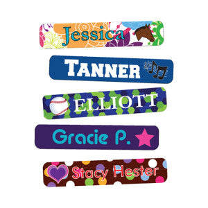 Get excellent deals on summer camp musts like name label products