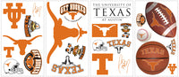 Show your love for college with these NCAA decals for your bedroom