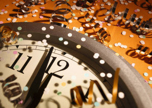 The time has finally come; the new year is almost here!