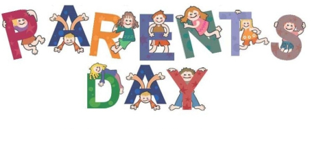 Every kid is happy to celebrate Parents' Day