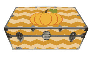 Keep this camp trunk out on display for the harvest season.