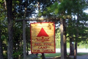 Red Pine Camp's Sign