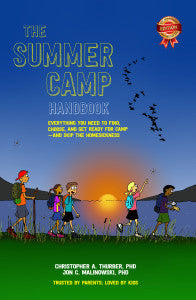 Get everything there is out of The Summer Camp Handbok to send your kid off to camp the rigt way.