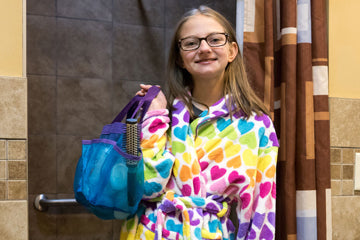 Get these colorful Washcloths for your showers at camp!