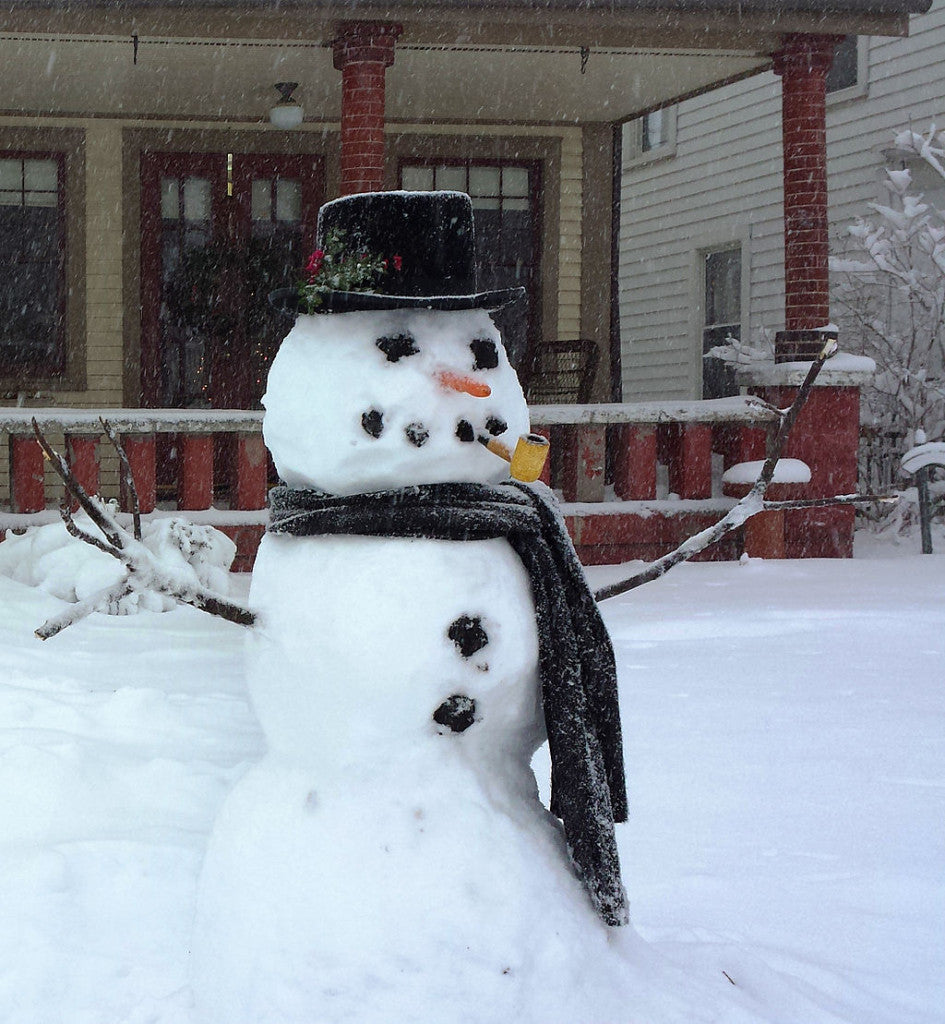 This jolly character seems to show up every winter!