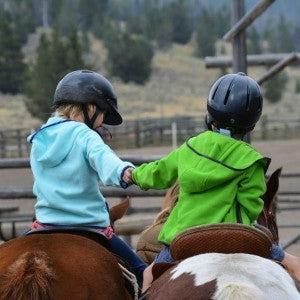Riding is a lifestyle at Teton Valley Ranch.