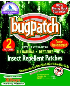 Bug Patch for natural insect repellent
